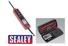 Sealey PP1 Auto Sonda Tester de circuito de alimentación eléctrica - 6-24V Multímetro Plus