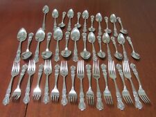 HERITAGE - 1847 Rogers Bros IS Silverplate Silverware , Flatware 41 Mixed Pieces