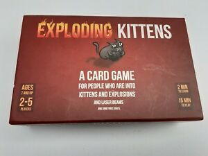 Asmodee Exploding Kittens Card Game - 2-5 Players