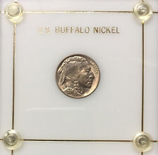 1938 D Buffalo Nickel ~ *Choice BU* ~ Boldly Detailed + *Loads of Mint Luster*