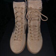 158a16eecb3 Authentic  635 Kanye yezzy combat khaki suede size 41 US size 8