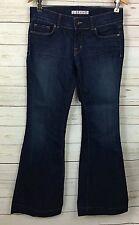 J Brand Jeans Love Story Dark Wash Flare Size 28