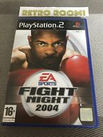 #0929 - PS2 - EA Fight Night 2004 Boxing (Sony PlayStation2) Retro Room 1982