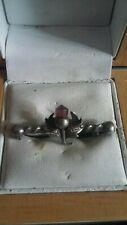 Sterling silver old brooch