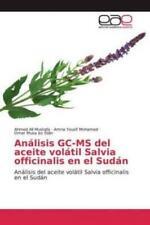 Análisis GC-MS del aceite volátil Salvia officinalis en el Sudán Anális 5948