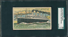 "1911 Guerin-Boutron #82 TITANIC ""First Voyage"" SGC 1.5 - 2 graded higher(B&BEnt)"