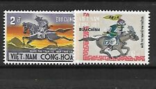 South Viet Nam Sc 392-3 NH issue of 1971 - postal history