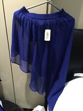Blue hi Lo skirt Forever 21 Size Small