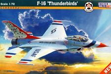 F-16 A/C THUNDERBIRDS FALCON (USAF SPECIAL MARKINGS) 1/48 MISTERCRAFT RARE