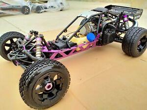 Rare HPI Racing Baja 5b OG 1:5 Scale Gasoline 2wd Buggy DDM 26cc 4bolt