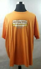 Whataburger Honey BBQ Chicken Strip Sandwich Employee Work T-Shirt Adult 3XL XXL