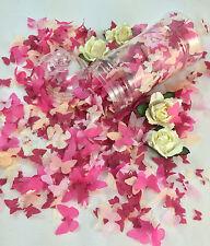 rose biodégradable Confettis Marsala pêche Ivoire papillon écologique Grand sac