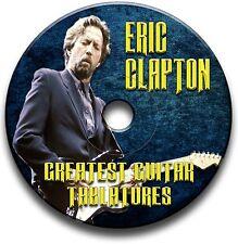100+ de ERIC CLAPTON blues rock Tab Tablature Song Book CD