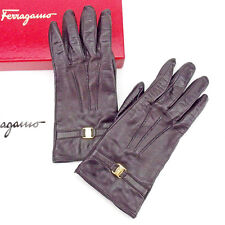 Auth Salvatore Ferragamo Gloves Women''s used used T2035