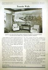 ASBESTOS Transite Walls Flat Sheets JOHNS-MANVILLE 1948