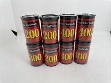 New ListingSeattle Filmworks 400 + 200 Asa 35mm Film Expired 2001 - New Sealed