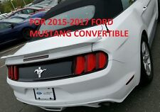 """FOR FORD MUSTANG CONVERTIBLE """"Track-Package"""" UN-Painted Spoiler FITS 2015-2017"""