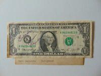 "RARE! ""Semi-Tough"" Burt Reynolds Signed U.S. $1.00 Bill Todd Mueller COA"