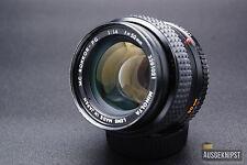 Minolta mc 50mm 1:1 .4 rokkor-pg estándar objetivamente lens digital puede ser adaptado