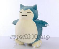 """Pokemon GO 11"""" Giant Snorlax Plush Toy Kabigon OA Doll Handmade Pillow Gift 30CM"""