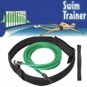 Swimming Training Exerciser Leash Swimming Resistance Strap Swimming Pool Belt NEW