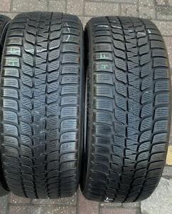 225 40 19 93V XL M+S Bridgestone Blizzak Lm-25V 2x Winter Tyres A Pair