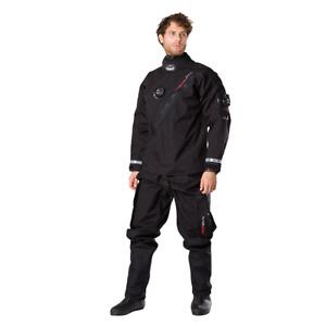 Brand New Mobbys Tech Shell Aqua Drysuit size L+