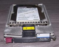 386536-001 HP/Compaq 9GB 10k U/min Wide Ultra2 SCSI HotPlug 328939-B22
