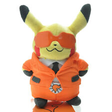 Pokemon Center 8'' Team Flare Pikachu Soft Plush Doll Toy Figure Gift