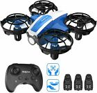 Holyton HS330 Hand Operated Mini Drone for Kid Throw to Go Quadcopter 3 Battery