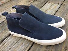 Seavees Huntington Middie Deep Navy Premium Suede Mens 10 Slip On Chukka Sneaker