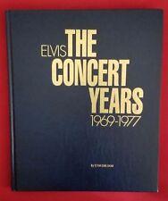 ELVIS THE CONCERT YEARS 1969-77<>STEIN ERIK SKAR<>OOP<>1997 HB BOOK<> ENGLISH