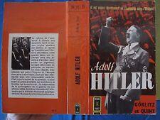 Adolf Hitler - Görlitz & Quint - Presses Pocket - 1962