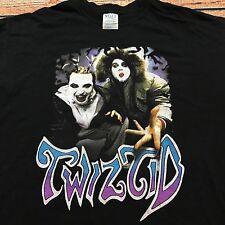 VTG TWIZTID ICP PSYCHOPATHIC RECORDS 2003 Insane Clown Posse XL HIP HOP T Shirt