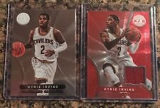 2012-13 Totally Certified Kyrie Irving Lot (2) Red Foil Jersey RC Cavs Celtics