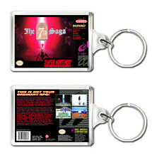 THE 7TH SAGA SUPER NINTENDO SNES KEYRING LLAVERO