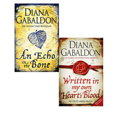 Diana Gabaldon 2 Books Collections Set Written in My Own Heart's Blood NEW