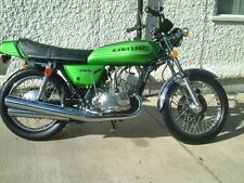 Kawasaki H1 500 Triple 1973 H1d LIME GREEN Decal set - The BEST!