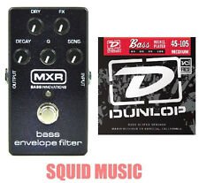 MXR Dunlop M82 Bass Envelope Filter Effects Pedal M-82 ( 1 SET OF BASS STRINGS)