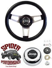 """1967-1975 Jeep CJ5 CJ6 steering wheel 13 3/4"""" custom steering wheel"""