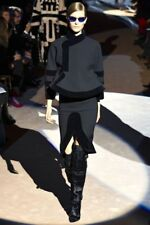 TOM FORD Runaway Over-the-Knee Boots Patchwork Fur Geometyric 36 EU/ 6 US $3500