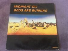 MIDNIGHT OIL 45 TOURS BEDS ARE BURNING (b6)