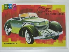 Vintage Factory Sealed Pyro Cord Convertible 1:25 Scale Model Kit #C505