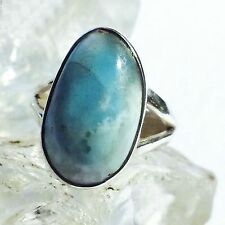 LARIMAR ATLANTIS 13 Ring ECHT 925 Silber Blue Unique Unikat