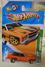 2012 Hot Wheels '70 CHEVY CHEVELLE CONVERTIBLE Treasure Hunts #15/15   NEW