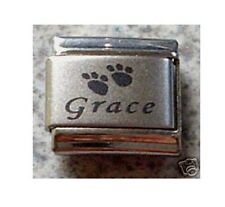 Italian Charms Name Personalised  Any Pet Name Dog