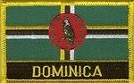 Dominica Patch / Dominica Flag