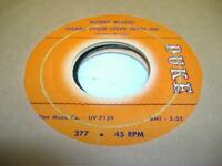 Blues 45 BOBBY BLAND Share Your Love With Me on Duke