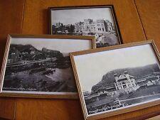 Set of 3 old photographs of Ilfracombe - Pavilion/Holiday Inn/Swimming Baths