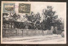1920 Mozambique Postcard RPPC cover to Adelaide Australia Government House